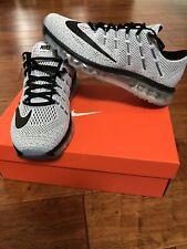 Nike Air Max 2016 Plus New Mens 10.5 Black/White Oreo Rare
