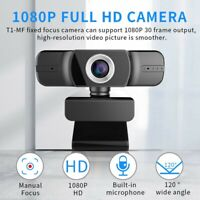 Full HD 1080P Web Cam PC Video Calling Webcam Camera with Microphone Desktop