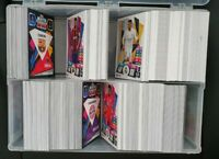 2020/21 Match Attax - Huge lot of 200 cards (20 shiny, no doubles) FREE Folder