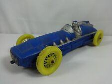 Vintage Auburn Rubber Blue Toy Car IndyCar Race Car Indy 500