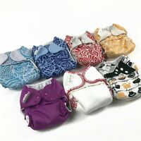 Lot of 7 BumGenius 2.0 4.0 Pocket Style Cloth Diapers RARE prints Artist Series