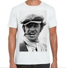 Tee-shirts Jean Paul Belmondo Bebel Acteur français Top qualité 190 gr