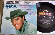 "Elvis Presley - Elvis By Request 7"" EP (RCA Victor LPC-128) VG"