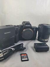 Sony a7R IV Digital Camera 61MP w/ Sony - 35mm f/1.8 FE Wide-Angle lens
