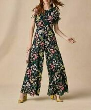 New Tommy Hilfiger Floral Ruffled Wide Leg Jumpsuit 12