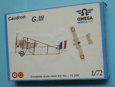 CAUDRON G III with wheels - 1/72 resin Kit OMEGA Models cat.72209