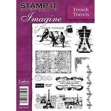 Crafters companion stamp-il australie A5 non montés timbres français voyages
