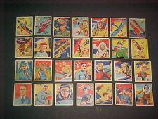1934  NATIONAL CHICLE SKYBIRDS  24 CARD LOT
