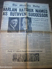 THE MICHIGAN DAILY MAY 21, 1951 UNIVERSITY OF MICHIGAN PICKS OHIO STATE UNIVERSI