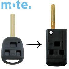 Lexus Remote Car  Key 3 Button Flip Shell/Case/Enclosure IS200 GS300 RX300 LS400