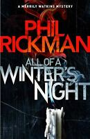 All of a Winter's Night (Merrily Watkins Mysteries Book 14) by Rickman, Phil