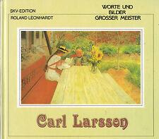 Leonhardt, Carl Larsson, palabras y las imágenes de gran maestro, color. imagen banda SKV'90