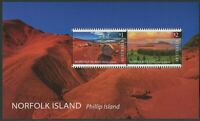 NORFOLK ISLAND: PHILLIP ISLAND LANDSCAPES 2019 - MNH MINIATURE SHEET (G118)
