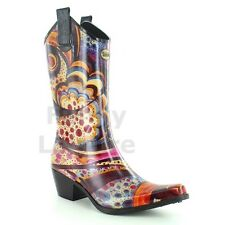 Talolo Boots Floral Bliss Festival Cowboy Boot Wellies