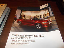 2012 BMW 1-Series Convertible 68-Page Deluxe Sales Catalog