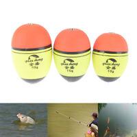5pc/lot buoyancy eva inline bobber float fishing floats catfish pike float vbuk