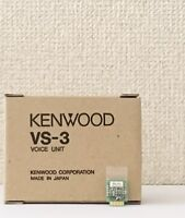 NEW KENWOOD VS-3 Voice Synthesizer Unit from JAPAN