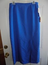 Nancy Bolen City Girl Women's Skirt Size 12 Clothes Blue New w Tags Full Length