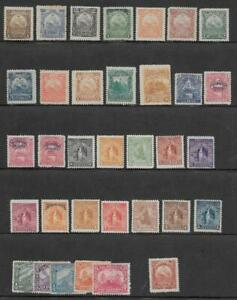 34 Nicaragua Stamps from Quality Old Antique Album