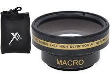HD WIDE ANGLE WITH MACRO LENS FOR SONY DCR-SR68 DCR-SR88