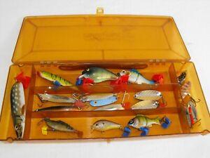 PLANO BOX & SOFT BAITS SPINNERS LURES PREDATOR TACKLE pike zander fishing setup