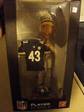 NFL Draft Day Troy Polamalu Player Bobblehead Pittsburgh Steelers /100 2003 Rare