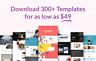 +330 Elementor Templates - WordPress - Website ready to import - NO PRO needed