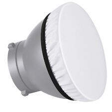 """Neewer Studio 2-Pack 7"""" Soft White Diffuser Sock, Softens the Light Output"""
