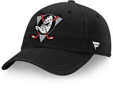 Anaheim Mighty Ducks Fanatics NHL Strapback Adjustable Hat Dad Cap