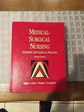 EXCELLENT CONDITION Medical Surgical Nursing 4th Edition Phipps Long Woods