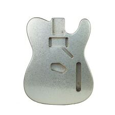 Eden Premier Series Alder Tele Guitar Body Metallic Silver Flake