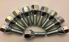 10 x m12x1.25 52mm di lunghezza 27mm FILETTO BULLONI CERCHI IN LEGA si adatta ALFA ROMEO 58.1