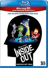 Inside Out 3D+2D Blu-Ray NEW BLU-RAY (BUY0259401)