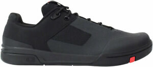 Crank Brothers Stamp Lace Men's Flat Shoe - Black/Red/Black, Size 10.5
