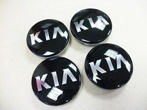 KIA Wheel Center Caps Alloy Emblem Badge Center Hub Cap x 4