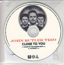 JOHN BUTLER TRIO Close To You 2010 UK 2-track promo test CD