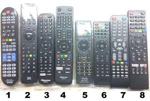 Variety Smart TV Remote Control_Universal / One4All / Hisense / iHandy_New