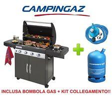 BARBECUE CAMPINGAZ 4 SERIES CLASSIC LS PLUS EXSE + BOMBOLA GAS + KIT REGOLATORE