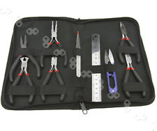 9pcs Beading Jewelry Making Tool Kit Hand Tools With Case Bead Beaders