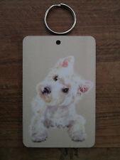 Westie, West Highland terrier, dog, Large Keyring , sign, plaque