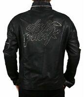 Daft Punk Black Faux Leather Jacket