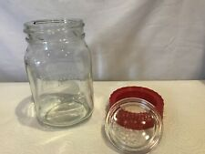 RAVENHEAD KILNER JAR 1L GLASS CAP & RED SCREW ON LID