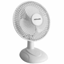 Desk Fan 2 Speed Air Cooler Cooling Tilt HHDF15S New White Color 15cm Heller