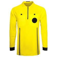 62beca25e Referee Soccer Jersey Long Sleeves Adult Large Yellow