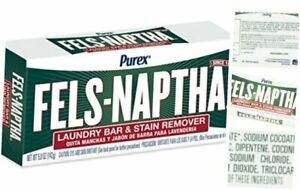 Purex Fels-Naptha Laundry Bar & Stain Remover & Pre-treater, 5 Ounce