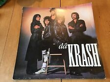 "1988 PRINCE - JESSE JOHNSON ""DA KRASH"" VINYL LP ALBUM RECORD (PRINCE-RELATED)"