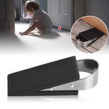 Rubber Door Stopper Buffer Protector Floor Heavy Duty Holder Stop Wedge Han Tool