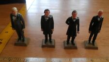 MARX Tyler Johnson Taylor Buchanan plastic figures lot of 4 presidents VINTAGE