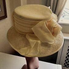 Cappelli Condici Lemon Cappello Occasione Formale gare Madre della Sposa wedding guest