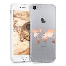 Handyhülle für Apple iPhone 7 8 Hülle Handy Case Cover klar Silikon Schutzhülle